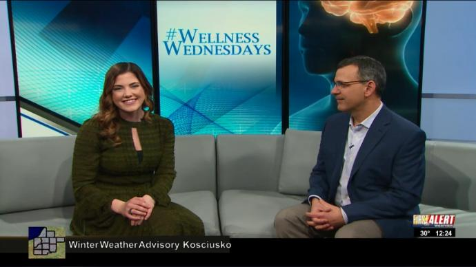 WNDU Wellness Wednesdays John Petersen therapist