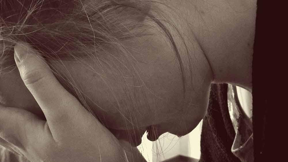 depression depressed woman